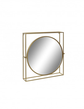 Espelho Metal Dourado
