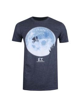 T-Shirt Bike Moon Homem