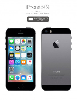 iNOVO - New Generation Apple! iPhone 5S 16GB Black