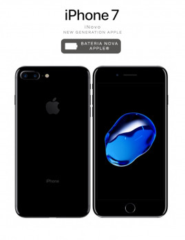 iNOVO - New Generation Apple! iPhone 7 32 GB Jet Black
