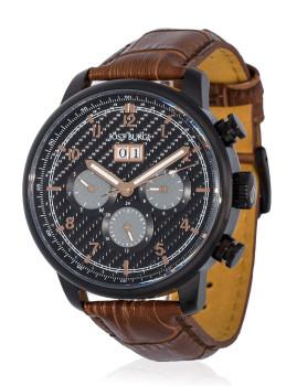 Relógio ´´Montesquieu´´ Bracelete Couro Homem