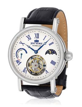 Relógio ´´Tourbillon La Citadelle´´ Bracelete Couro Homem