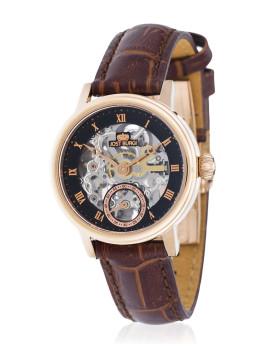Relógio ´´Legacy Skelette´´ Bracelete Couro Homem