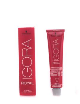 Creme De Coloração Permanente Igora Royal 1-1 60 Ml Schwarzkopf
