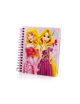 Pack 2 Mini blocos Princesas Rosa