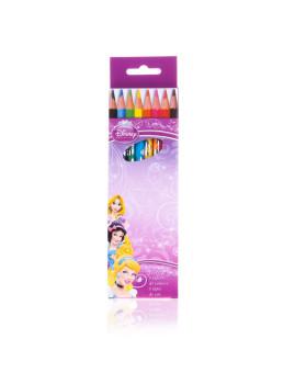 Lápis  Cores  8 Pzs. Em Caixa Princesas