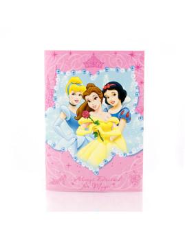 Caderno Princesas Rosa