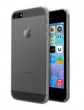 Capa Tpu Gel Transparente Iphone 5/5S