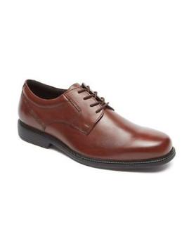 ab07e66b1 Sapatos Rockport Charles Road Charlesroad Plaintoe Castanho ...