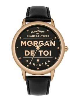 Relógio Morgan de Toi Preto e Dourado
