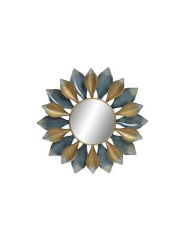 Espelho Metal Flor 68X8X68