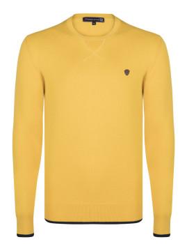 Pullover Giorgio Di Mare Amarelo e Azul Marinho