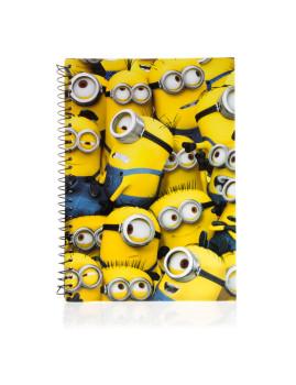 Caderno A5 Minions
