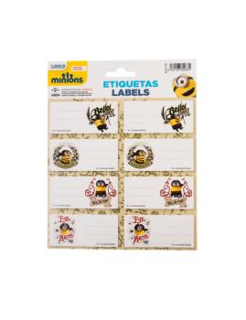 Etiquetas Minions II