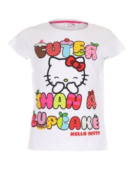 T-shirt Cuter Than A Cupcake Branco