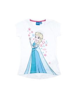 T-shirt Frozen Branco