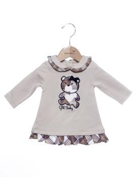 Vestido Bebé Girandola Beige