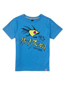 T-shirt Hot Tuna Nom Nom Azul