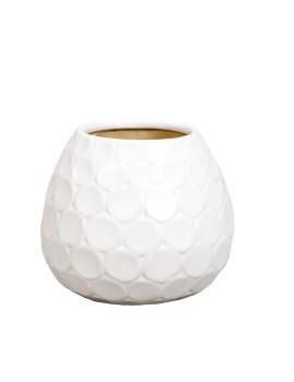 Vaso Decorativo Spha'ra Branco