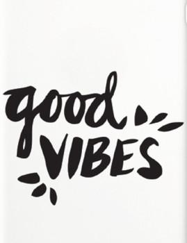 imagem de Capa Good Vibes Reaction Iphone e Samsung Branco2