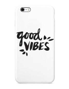 imagem de Capa Good Vibes Reaction Iphone e Samsung Branco1