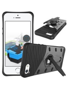 imagem de Capa Rugged Sandor À Prova de Choque Iphone 5/5S Preto3