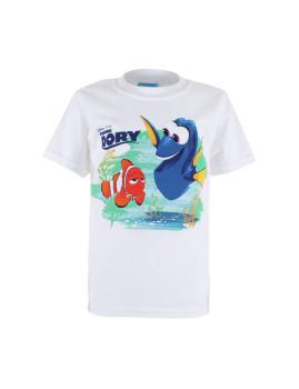 T-shirt Disney Criança Marlin & Dory Branca