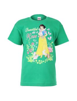 T-shirt Disney Criança Snow White Rose Verde
