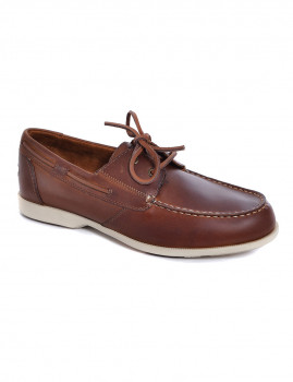 Sapato de Vela Rockport 2-Eye Castanho Escuro