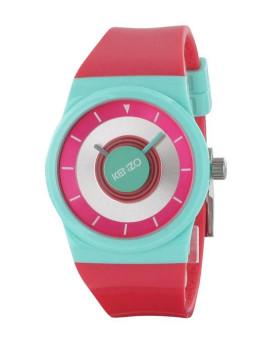 Relógio Kenzo Modelo Pop Rosa e Azul turquesa