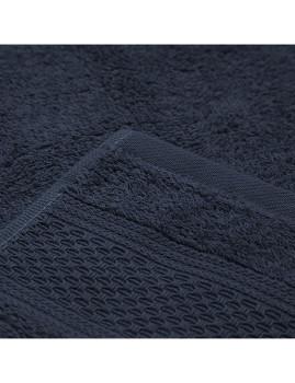 imagem de Toalha WC Favos Azul escuro2