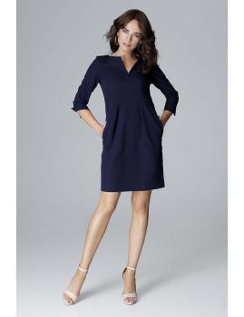 Vestido Lenitif Azul Marinho