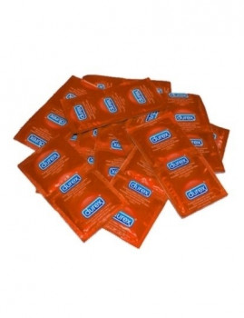 Packs 100 Preservativos DUREX STRAWBERRY