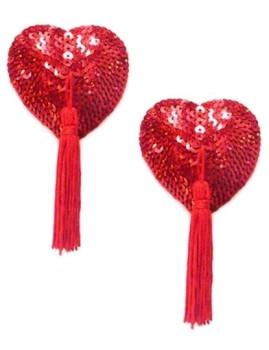 Tapa Mamilos Corações Vermelhos