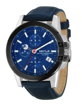 Relógio Sector Homem Azul