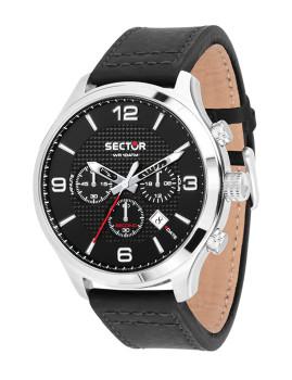 Relógio Sector Homem Traveller Preto