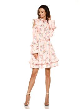 Vestido Lemoniade Rosa Claro com Flores