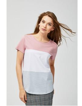 T-Shirt  Moodo Senhora Rosa