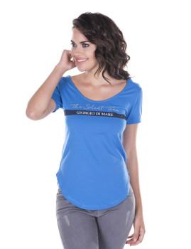 T-shirt de Senhora Giorgio di Mare Azul