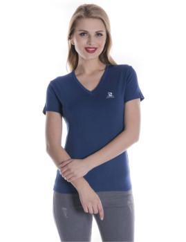T-Shirt Giorgio Di Mare Azul Índigo