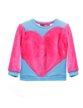 Sweatshirt Coração Agatha Ruiz de la Prada Multicolor