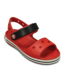 Sandálias Crocs Crocband Vermelho e Branco