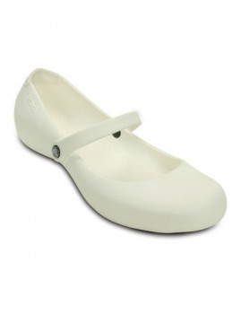 Sabrina Crocs Alice Work Branco