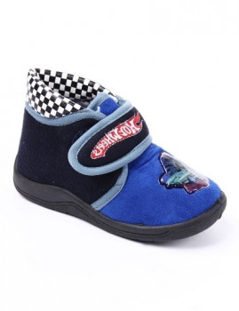 Pantufas Copyer Azul Hot Wheels