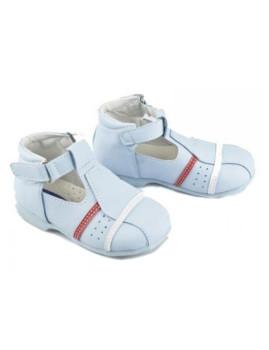 Sapatos c/Presilha Subidos Azuis Campanilla