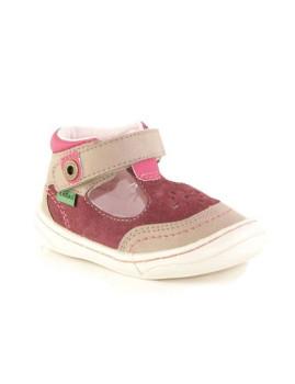 Sapatos de Velcro Rosa Claro Zecepa Kickers Kids