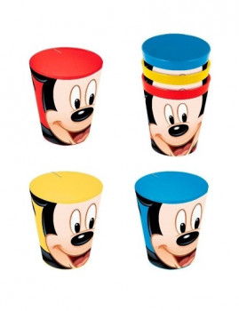 Conjunto 3  Copos Mickey