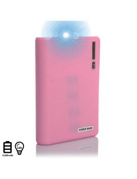 Powerbank 12000Mah Com Lanterna
