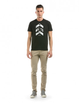 T-shirt Arrow Preto