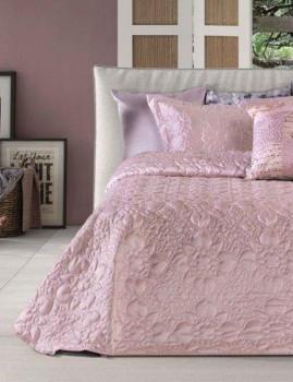 Colcha Decorativa Paracelso Rosa